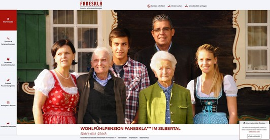 Pension Faneskla, Montafon