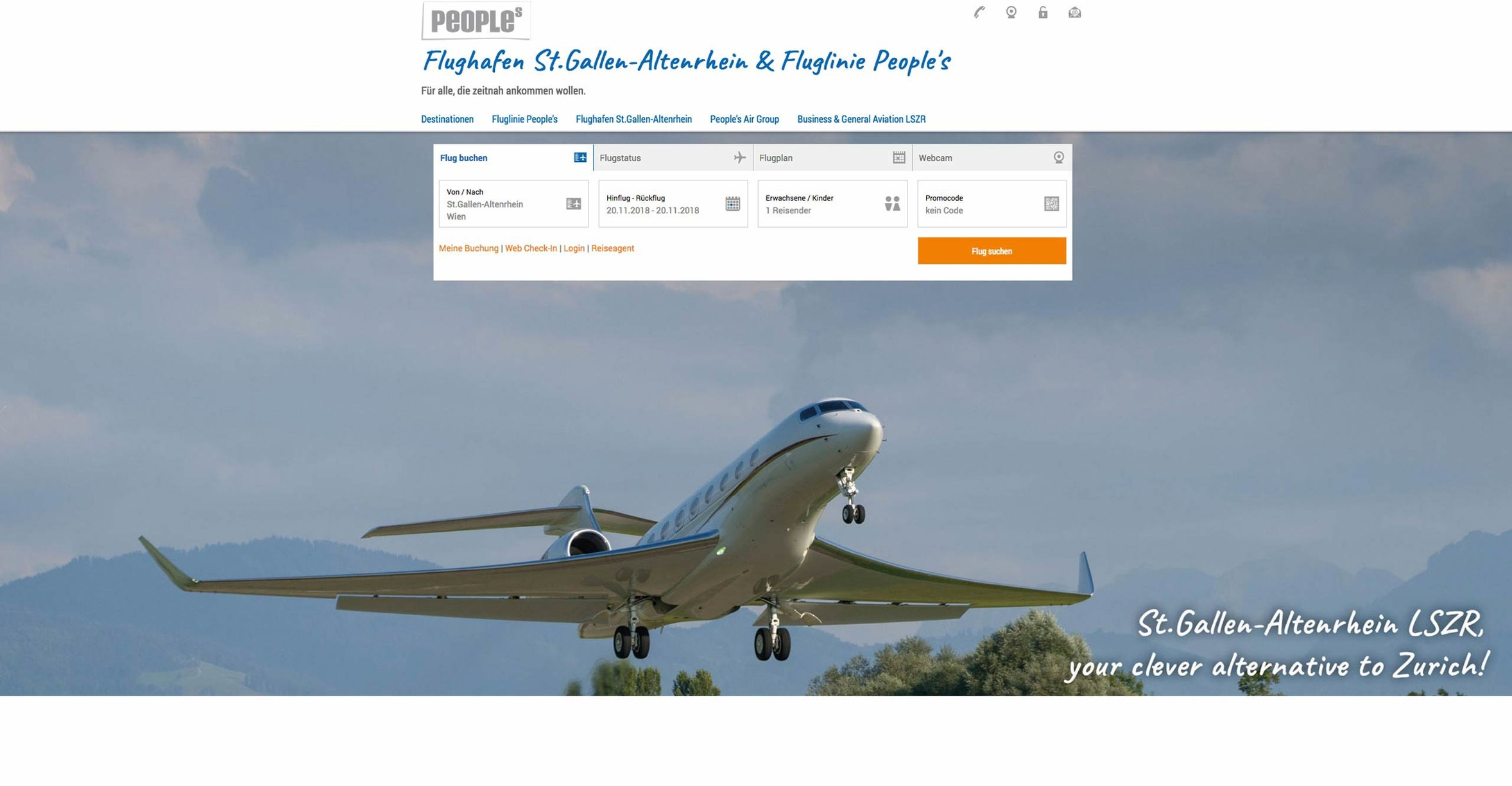 eboxx® webdesign: peoples airgroup